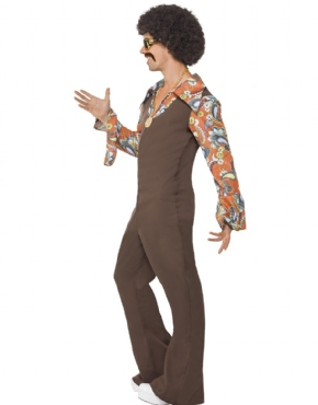 Adult Groovy Boogie Costume - Back View