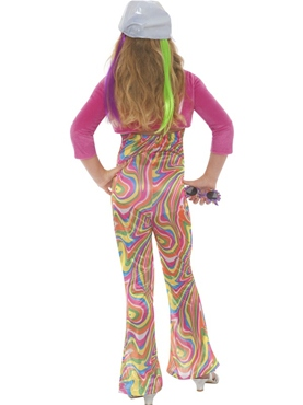 Child Groovy Glam Child Costume - Side View