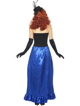 Adult Grotesque Burlesque Pin Up Costume - Side View