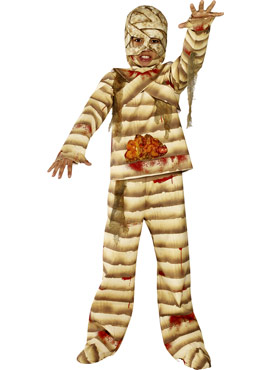 Child Gutsy Mummy Costume