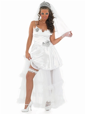 Adult Gypsy Bride Wedding Dress