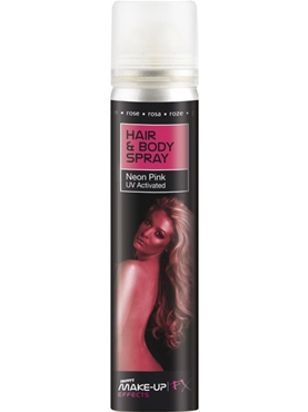 Hair and Body Spray UV Pink
