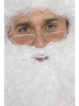 Half Moon Santa Specs Metal Frame
