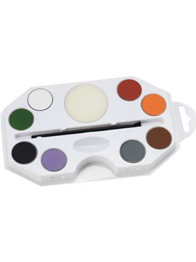 Halloween Aqua Face and Body Paint Kit