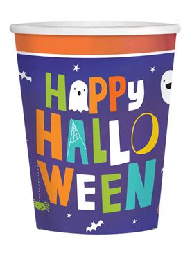 Hallo-ween Friends Paper Cups