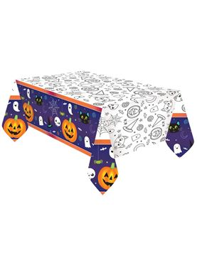 Hallo-ween Friends Paper Tablecover
