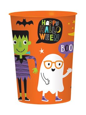 Hallo-Ween Friends Plastic Favour Cup