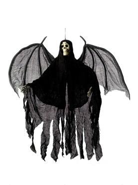 Hanging Skeleton Angel Decoration