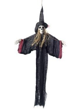 Hanging Witch Skeleton Decoration
