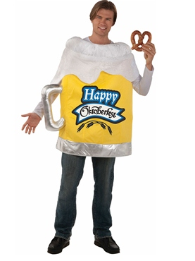 Happy Oktoberfest Beer Mug Costume