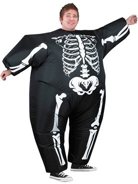 Adult Inflatable Skeleton Costume