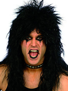 Hard Rocker Wig Black