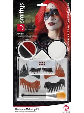 Harlequin Make Up Kit - Back View