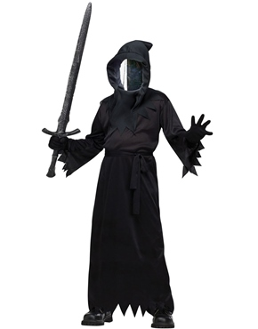 Child Haunted Mirror Ghoul Costume