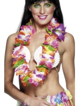 Hawaiian Garland Brightly Coloured