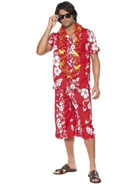 Adult Hawaiian Hunk Costume