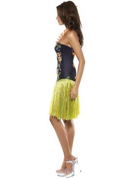 Adult Hawaiian Luscious Luau Costume - Side View