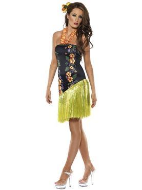Adult Hawaiian Luscious Luau Costume