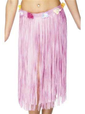 Adult Hawaiian Skirt Light Pink