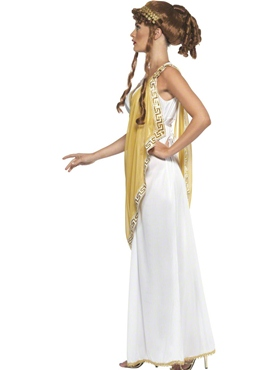 Adult Helen of Troy Costume - Side View