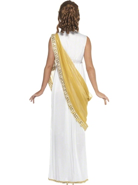 Adult Helen of Troy Costume - Back View