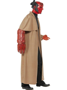 Adult Hellboy Costume - Back View