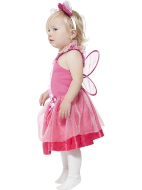 Child Hello Kitty Ballerina Fairy Costume - Back View
