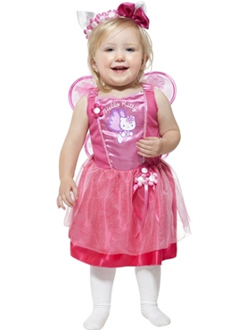 Child Hello Kitty Ballerina Fairy Costume