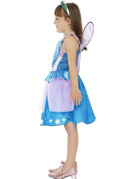 Child Hello Kitty Butterfly Fairy Costume - Side View