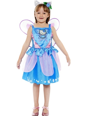 Child Hello Kitty Butterfly Fairy Costume