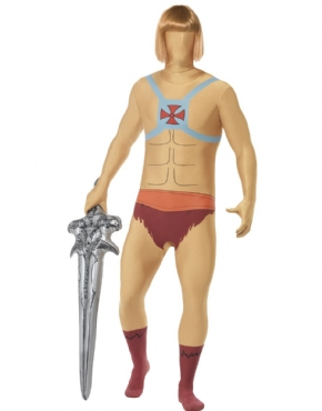 Adult He-Man Second Skin Costume