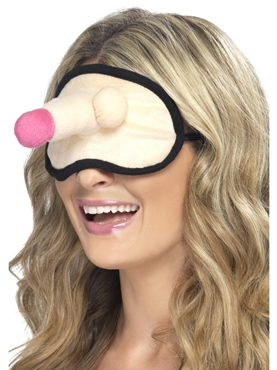 Hen Night Plush Willy Eyemask