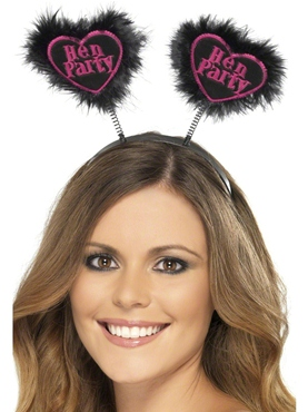 Hen Party Love Heart Boppers