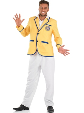 Adult Hi De Hi Male Yellow Coat Costume Thumbnail