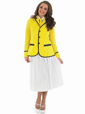 Adult Hi De Hi Female Camp Host Costume