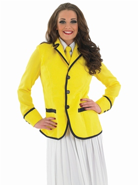 Adult Hi De Hi Female Camp Host Costume - Back View