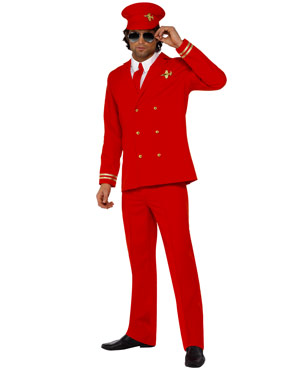 Adult High Flyer Pilots Costume Thumbnail