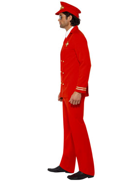 Adult High Flyer Pilots Costume - Side View