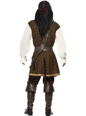 Adult High Seas Pirate Costume - Side View