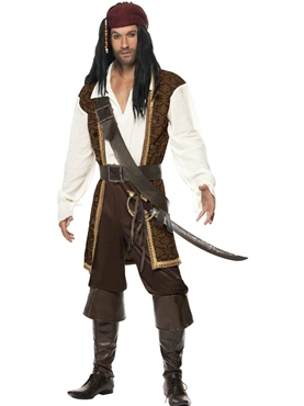 Adult High Seas Pirate Costume Thumbnail