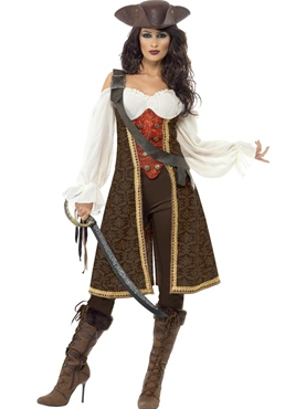 Adult High Seas Pirate Wench Costume Thumbnail