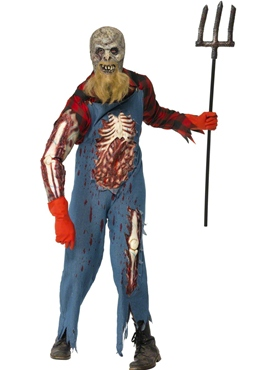 Adult Hillbilly Zombie Costume