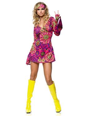 Adult Hippie Costume