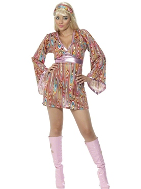 Adult Hippy Hottie Costume