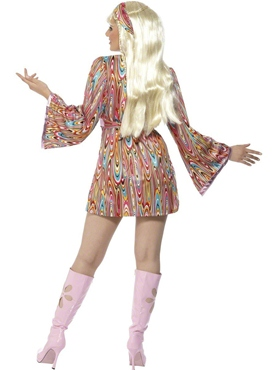 Adult Hippy Hottie Costume - Side View