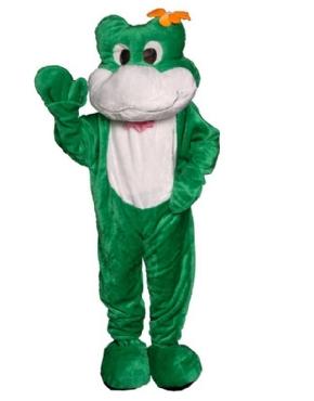 Adult Deluxe Frog Mascot Costume