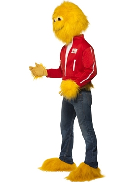 Adult Honey Monster Costume - Back View