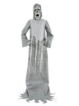 Hooded Ghost Animated Figure Decoration
