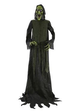 Hooded Witch Animated Figure Decoration