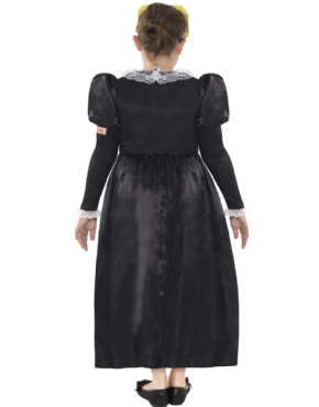 Child Horrible Histories Mary Stuart Costume - Side View